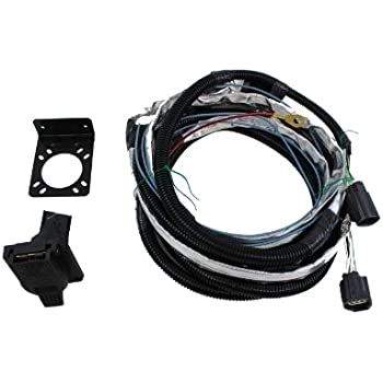 41YFhbHnEWL._SL500_AC_SS350_ amazon com genuine jeep accessories 82210214ab trailer tow wiring wiring harness for towing a jeep at n-0.co