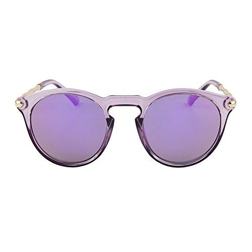 femme Soleil UV et Lunettes de Protection Conduite de Fletion de soleil Violet hommes Anti Reflets Lunettes Lunette pour 58aqwxBUw