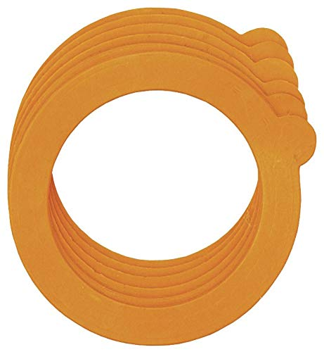 Tala - 6 Rubber Jar Sealing Rings - For Use On Lever Arm & Preserving Jars