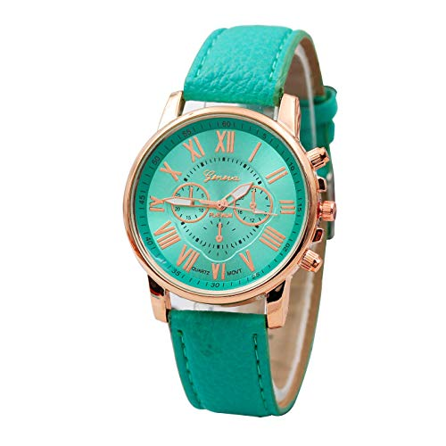 Star_wuvi Women's Crystal Accented Bangle Watch and Bracelet Set