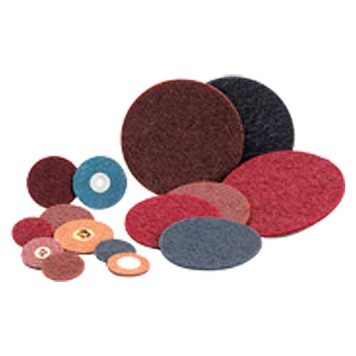 3? - Coarse Grit - Surface Conditioning Rol-On Quick Change Disc (Pack of 10) by Standard Abrasives (Image #1)