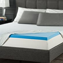 Sleep Master Gel Memory Foam 2 Inch Topper,Queen