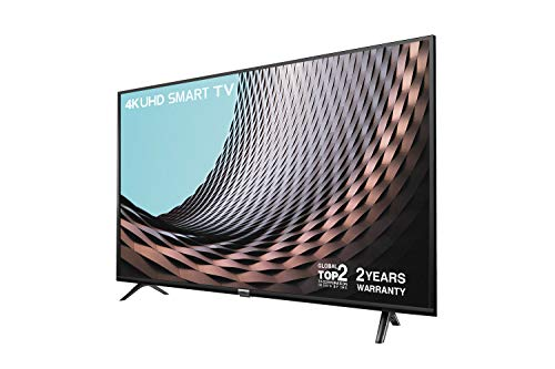 TCL 65DP628 65 Inch UHD 4K TV, HDR10 and HLG, Modern Design with Freeview Play (2018/2019 Model)