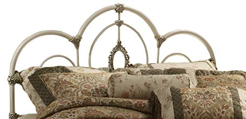 Hillsdale Victorian Headboard - Hillsdale 1310-670 Victoria Without Bed Frame King Headboard, Antique White