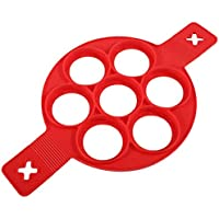 Reusable Silicone Omelette Mold (red)