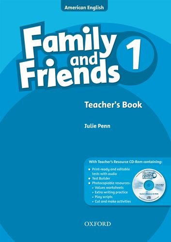 Family And Friends American Edition 1 Teachers Book Cd Rom Pack