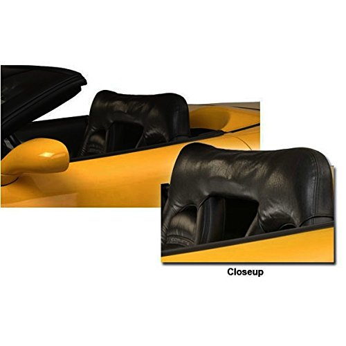 C5 Corvette Convertible Seat Wind Deflector Prevents Cockpit Wind Buffering Fits 98 Through 04 Convertible Corvettes with Sport Seats Performance Choice 606-157