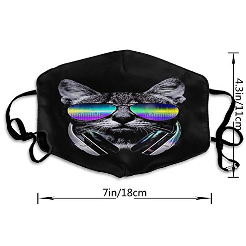 Cool Sunglasses Cat Adult Customized Protective Fashion Air Mask | Face Mask | Anti Pollution Dust Mask | Washable And Reusable