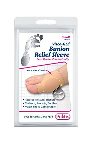 PediFix Visco-gel Bunion Relief Sleeve, Small