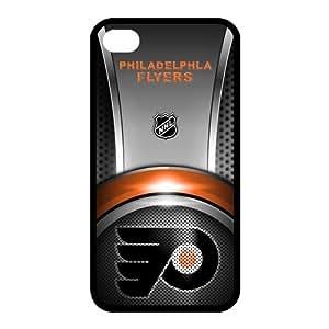 Customize NHL Philadelphia Flyers Back Case for iphone 4,4S JN4S-1479