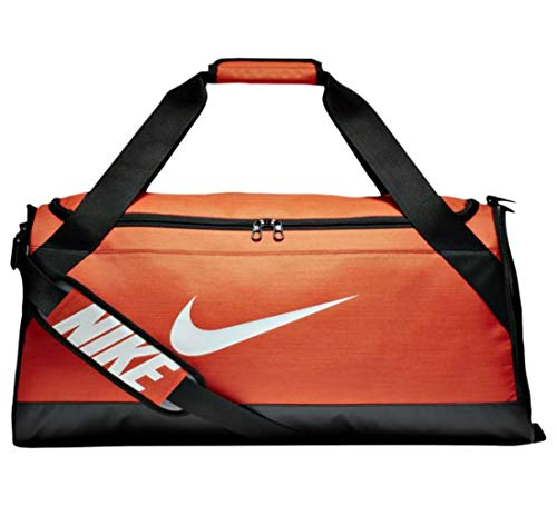 891 Sports Brasilia BA5334 3723 Medium Orange in cu Duffel Bag Black Gym NIKE 47EOnpwxq4