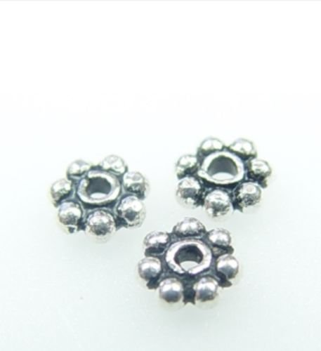 Bali Daisy Spacer Beads - 9