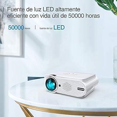Proyector TAOCOCO Mini Portátil Proyector de Cine en Casa 3800 ...