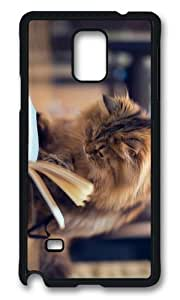 Adorable Cat Book Hard Case Protective Shell Cell Phone Case For iphone 6 4.7 Cover