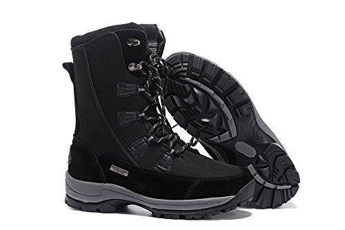 Skid Snow Speedeve Women Black Ski Climbing Boot Hiking Anti Shoes Warm Outdoor Fur Lining Winter Boots Sports Waterproof dFFwzq