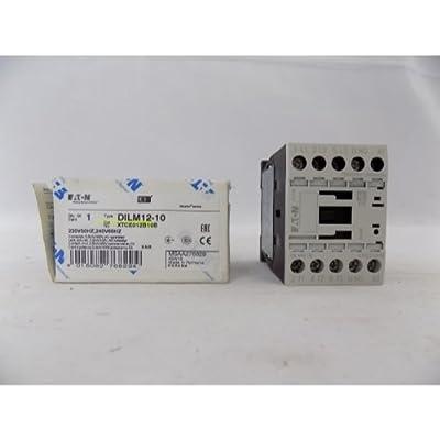 IEC Contactor, NonRev, 240VAC, 12A, 1NO, 3P