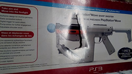 Sony PlayStation, PlayStation Move Sharp Shooter (Catalog Category: Videogame Accessories / PS2 & PS3 Controllers)