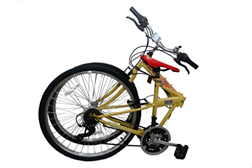 "Columba 26"" Folding Bike w. Shimano 18 Speed Lava (SP26S_LAV)"