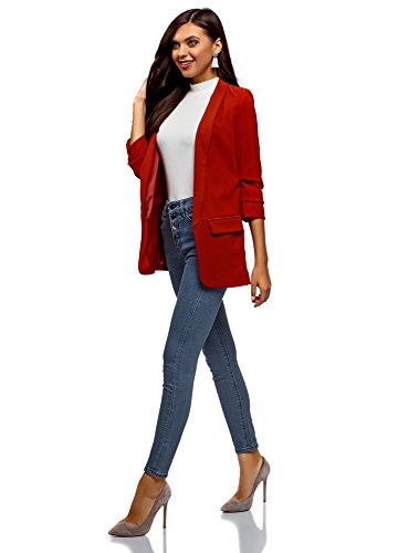 Ultra 7500w Skinny Donna A Vita Oodji Blu Jeans Alta Odq6f88T
