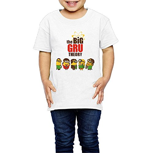 The Big Bang Minion Theory Unisex Tee For Kids (2-6 Years Old)