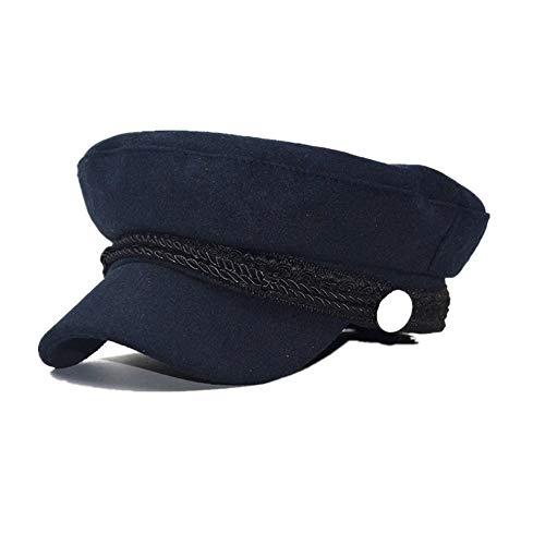 VIVICMW TOP Unisex Wool Newsboy Beret Caps Winter Cabbie Hats Fall Visor Cap Paperboy Painter Hat