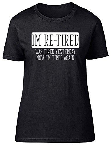 Shopagift - Camiseta - para mujer negro