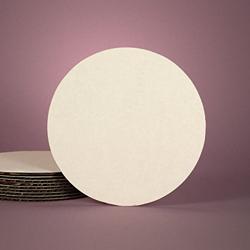 Cardboard Round Bakery White Cake Circle 8