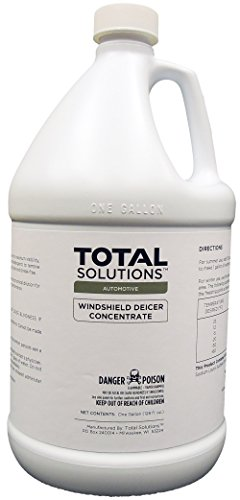 Windshield De-Icer Concentrate, Powerful methanol-based concentrate- 4 Gallons