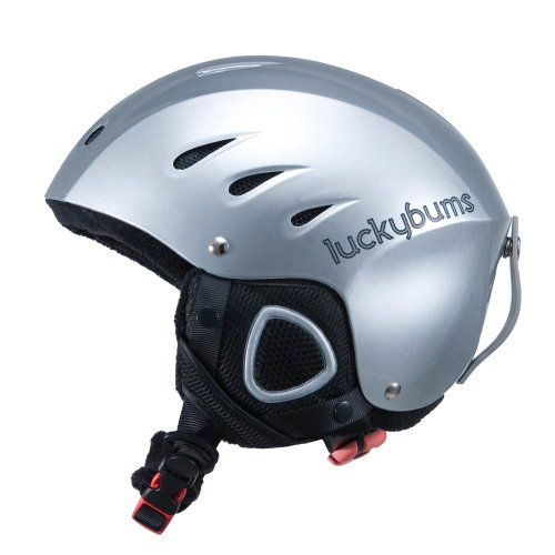 lucky-bums-snow-sport-helmet-with-fleece-liner-silver-large