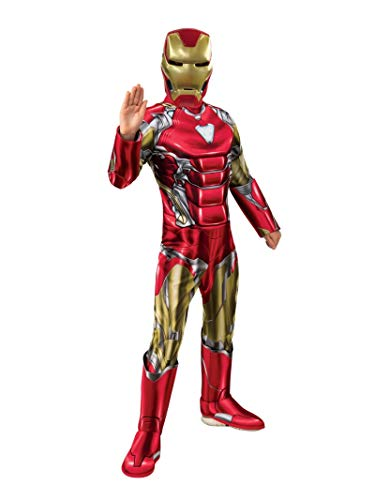 Rubie's Avengers 4 Deluxe Iron Man Costume & Mask (The Best Iron Man Games)