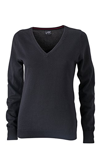 James & Nicholson–V de jersey con cuello negro
