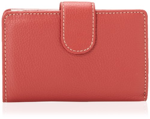 Mundi Rio Leather Frame Index Wallet,Red,one size