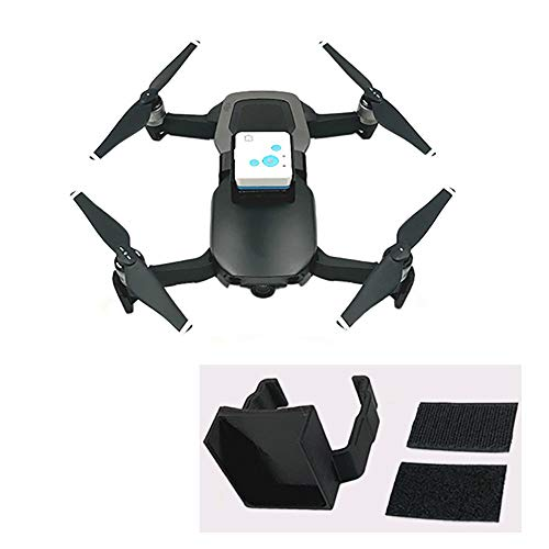 yifangmao Drone GPS Tracker Bracket RF-V16 Tracer Holder Mounting for DJI Mavic Air -