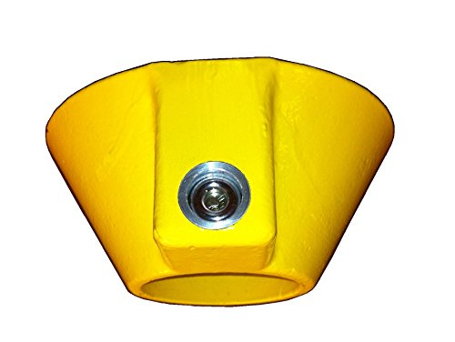 Steel Conical King Pin Lock for Trailers and Rvs by Universal Boot Inc.