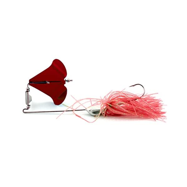 Tractor Fishing Lures Small Fish Buzzbait Skirt Tail