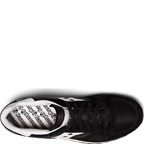 Original Shadow Unisex Gimnasia blanco Vintage Zapatillas Saucony De Adulto Negro v5Tdq1qBxn