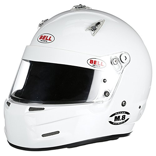 Bell Racing M.8 WHITE LARGE (60) SA2015 V.15 BRUS - Bell Racing
