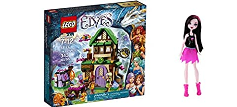 LEGO Elves The Starlight Inn 343 Pcs & free Gifts Ghoul Spirit Draculaura Doll (Colors may vary) Toys