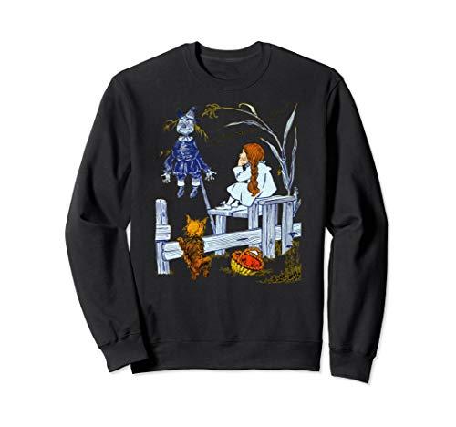 Scarecrow Sweatshirt Dorothy and Toto Meet Scarecrow