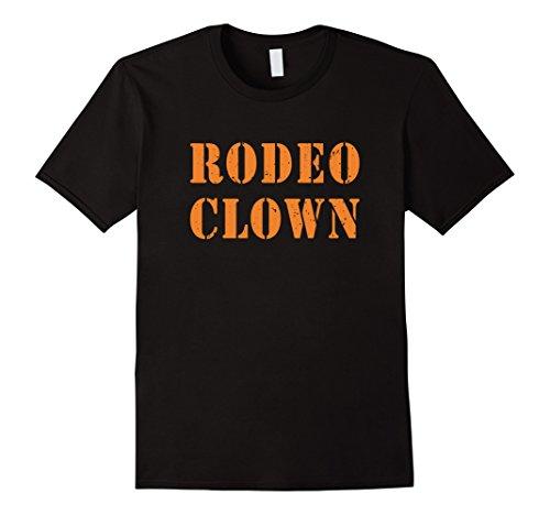 Mens Rodeo Clown Halloween T-Shirt Small (Rodeo Clown Costumes)