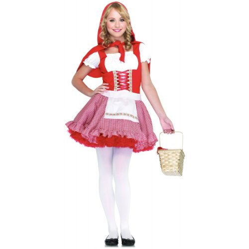 Lil' Miss Red Teen/Junior Costume - Teen Medium/Large]()