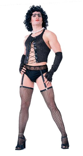 Forum The Rocky Horror Picture Show Frank And Furter Complete Costume, Black, Standard