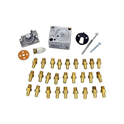 Heater Conversion Kit - Raypak 004693F MV Pilot Propane to Natural Gas Conversion Kit