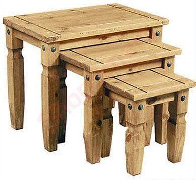 Generic Lot de 3 Fixations en Fer cir/é cir/é pour 3 Tables en Fer cir/é