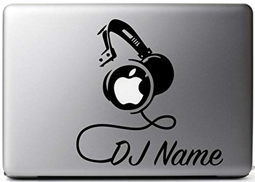 DJ Custom Name Car Window Wall Decoration Decal Sticker -