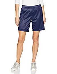 Intensity Womens PE Cut Eyelet Mesh Short