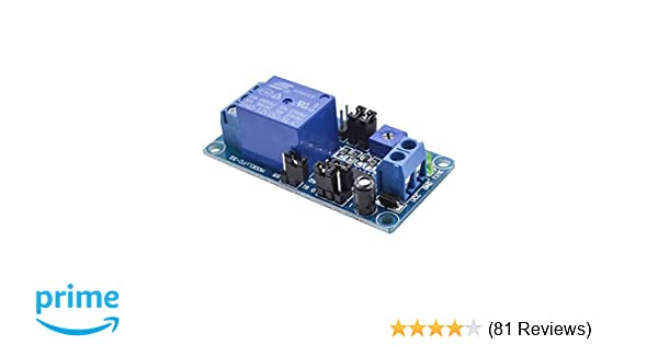 DC 12V Delay Relay Board Delay Turn On/Turn Off Switch Module with Timer