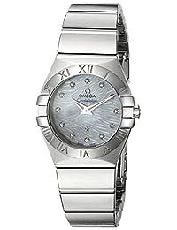 Omega Women's 'Constellation' Swiss Quartz Stainless Steel Dress Watch (Model: 12310276055004)