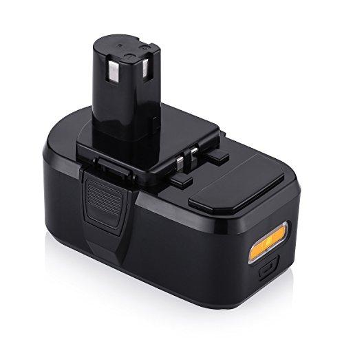 Powerextra 4500mAh Li-ion Replacement Battery for Ryobi 18V Battery ONE+ P102 P103 P104 P105 P107 P108 Ryobi 18V Cordless Power Tools 4500mah Li Ion Battery