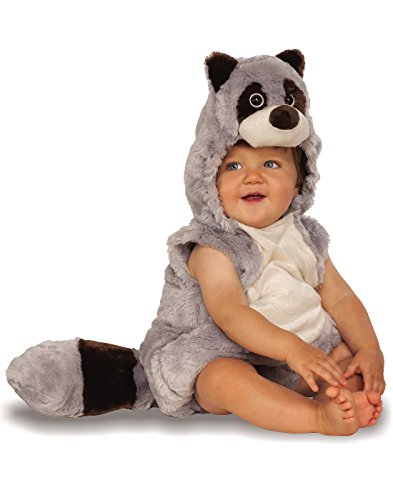 Toddler Raccoon Costumes (Rubie's Costume Co. Baby Raccoon Costume, As Shown, Toddler)